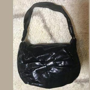 Kate Spade Embossed Snake Bow Detail Hobo Bag